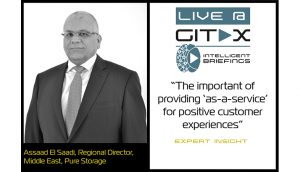 Live @ GITEX: Assaad El Saadi, Regional Director, Middle East, Pure Storage