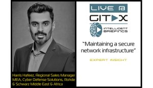 Live @ GITEX: Harris Hafeez, Regional Sales Manager MEA, Cyber Defense Solutions, Rohde & Schwarz