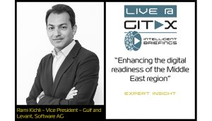 Live @ GITEX: Rami Kichli – Vice President – Gulf and Levant, Software AG